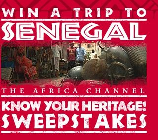 Africa Channel Know York Heritage Sweepstakes